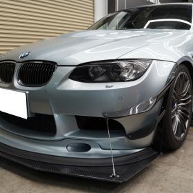 BMW E90M3 アンダーパネル取り付け
