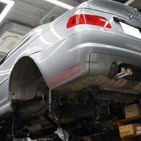 BMW E46M3 CSL フルピロ&リジッドマウント