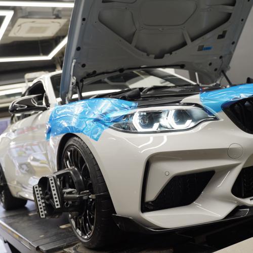 BMW F87M2コンペ&バイク