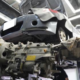BMW E46M3 CSL フルピロ&リジッドマウント その3