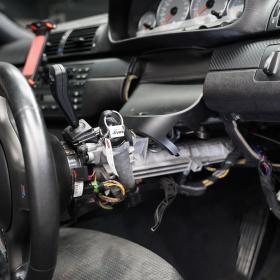 BMW E46M3 舵角センサー交換