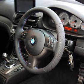 BMW E46M3 ステアリング張替