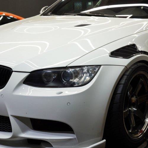 BMW E92M3 カーボンフェンダーダクト