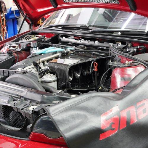 BMW E46M3 カーボンエアーボックス
